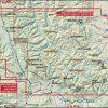 Bob Marshall Wilderness Complex Map: South Half Coverage