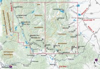 Bob Marshall Wilderness: South Half Coverage
