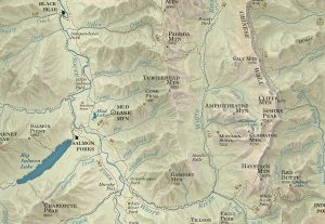 Bob Marshall Country Map Sample
