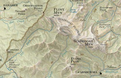 Bob Marshall Country Map Sample