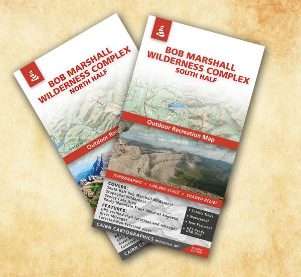 Bob Marshall WIlderness Map Set