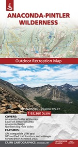 Anaconda-Pintler Wilderness Map Cover