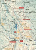 Glacier and Waterton Lakes map coverage
