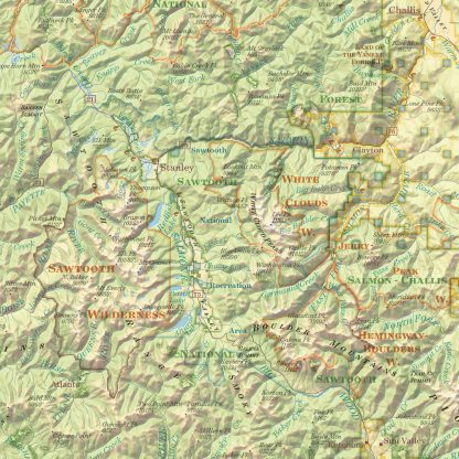 Public Lands of Idaho Sample 75%